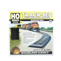 Woodland Scenics ST1474 Track-Bed spugna fonoassorbente x massicciata (l.731cm)