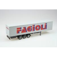 "DOC60920RF Semi-rimorchio 3 assi ""Fagioli"" H0-1:87"