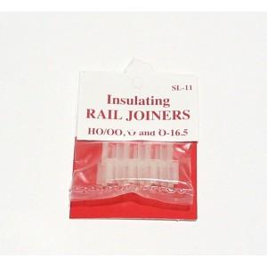Peco SL-11 Giunti isolanti in plastica (12pz) H0