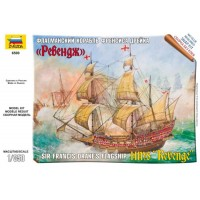 "Zvezda 6500 English Ship ""Revenge"" (kit 1:350)"