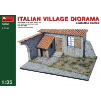 Miniart 36008 Diorama Italian Village (kit 1:35)