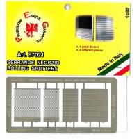 Peg Model 87021 Serrande per negozi (1:87)