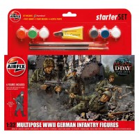 Airfix 55210 German infantry figures WWII (1:32)