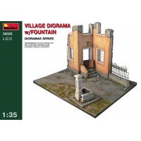 Miniart 36028 Diorama villaggio con fontana (kit 1:35)
