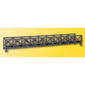 Kibri 39702 Ponte in ferro dritto lung. 38,5cm  (kit)