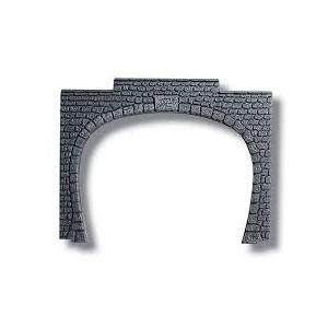 Noch 60020 Portale a doppio binario H0 15,5x12,5 cm (2 pezzi)
