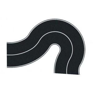 Noch 60701 Strade adesiva in curva largh. 80mm (2pz)