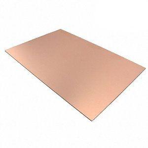 Adt Costruzioni 1001 Basetta ramata vetronite mono faccia 100x70mm