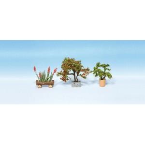 Noch 14020 Piante in vaso ornamentali 3pz