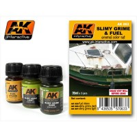 AK Interactive AK063 Set colature carburante e sporco