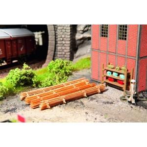 Noch 14212 Cataste di legno (4 pile) Laser Cut
