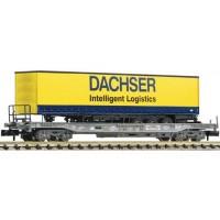 """Fleischmann 845356 Carro a tasca """"Dachser"""" con rimorchio 1/160 scale"""