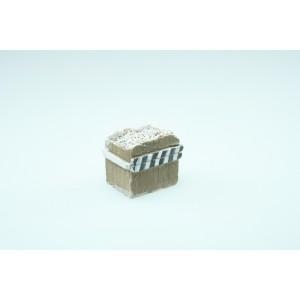 Adt Costruzioni Paraurti con traverse in legno H0-1:87 (2 pz)