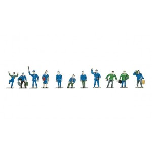 Roco 40000 Personaggi assortiti da colorare (24pz) H0