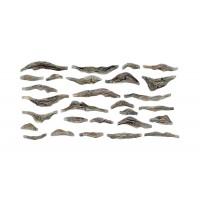 Woodland Scenics C1245 Stampi rocce per fondali di fiumi (2pz)