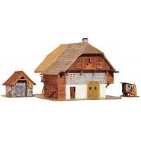 Faller 131290 Casale in legno della foresta (H0)