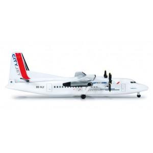 Herpa 519014 Cityjet Fokker 50 1/500 scale