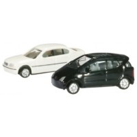 Herpa 065115-002 Set 2 auto Bmw e MBenz 1:160 scale