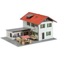 Faller 131273 Edificio con mercatino H0