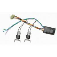 Roco 40411 Decoder DCC con coppia ganci elettromagnetici