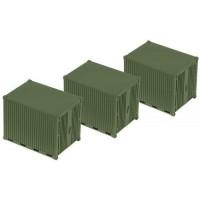 Roco Minitanks 5073 Container 3 pezzi