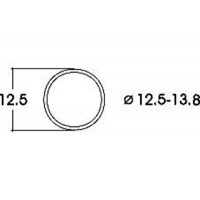 Roco 40069 Anelli di aderenza per ruote 10,3 12,8 mm