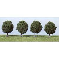 Heki 1030 Alberi verdi da viale altezza 6-7 cm (H0-TT-N)