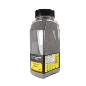 Woodland Scenics B1388 Pietrisco grana grande grigio chiaro