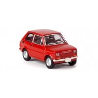 Brekina 22351 Fiat 126 rossa 1:87