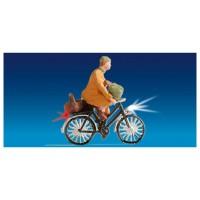 Noch 17570 Persona in bicicletta con luci funzionanti
