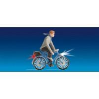 Noch 17572 Persona in bicicletta con luci funzionanti