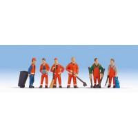 Noch 15029 Operatori di pulizia stradale (H0-1:87)