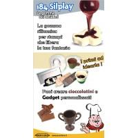 Prochima Silplay 184/28 gomma siliconica x alimenti (a+b 500gr)