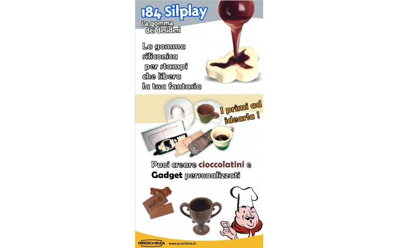 Prochima silplay 184 28 gomma siliconica x alimenti a b for Gomma siliconica prochima