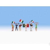 Noch 15976 Tifosi squadra Italia H0 6 pezzi