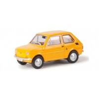 Brekina 22366 Fiat 126 gialla 1:87