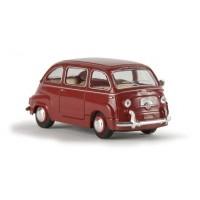 Brekina 22456 Fiat Multipla rosso bordeaux 1:87