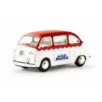Brekina 22465 Fiat Multipla Gelati Motta 1:87