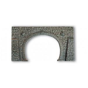 Noch 58248 Portale in pietra doppio binario 23,5x13 cm
