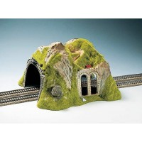 Noch 02430 Tunnel dritto per due binari scala 1:87-H0