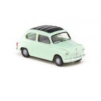 Wiking 009902 Fiat 600 colore verde lichene