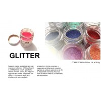 Prochima GL008003G20 Glitter 008 Pro 003 RED Rosso Gr. 20