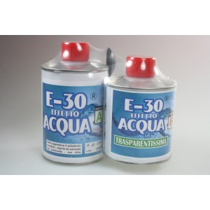Prochima FE034G320 E-30 Effetto acqua resina A+B 320 gr.