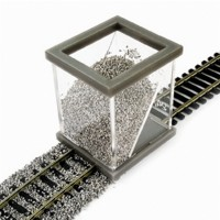 Proses BSH001 Spargi ballast-pietrisco scala 1:87