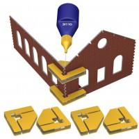 Proses PRSS01 Magneti ad angolo per montaggio kit (4 pz)