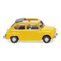 Wiking 009905 Fiat 600 colore giallo