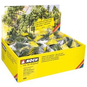 Noch 25960A Set 10 alberelli verde scale H0-TT-N