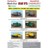 Blackstar 30156-01 Loco diesel ex Kof treno cantiere