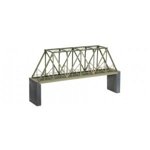 Noch 67029 Ponte ferroviario in ferro serie Laser cut kit H0