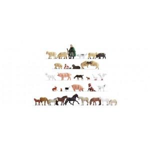 Noch 75134-1 Pastori con animali (32 figure H0)